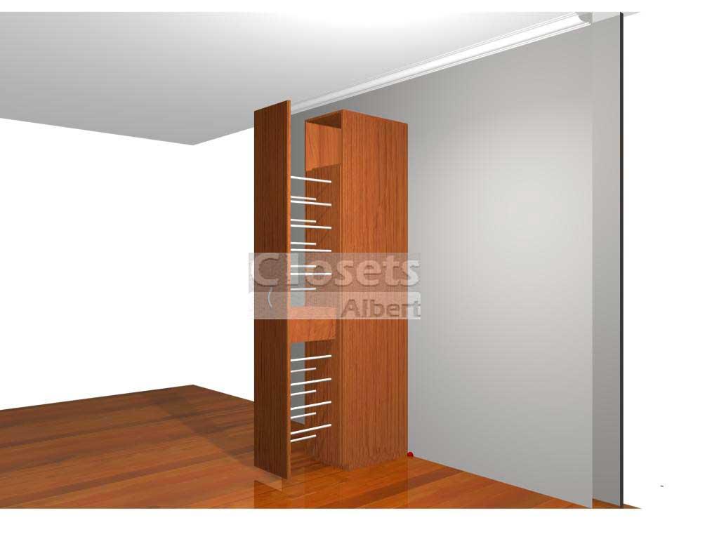 Todos los productos closets albert closets y vestidores for Zapateras para closet madera